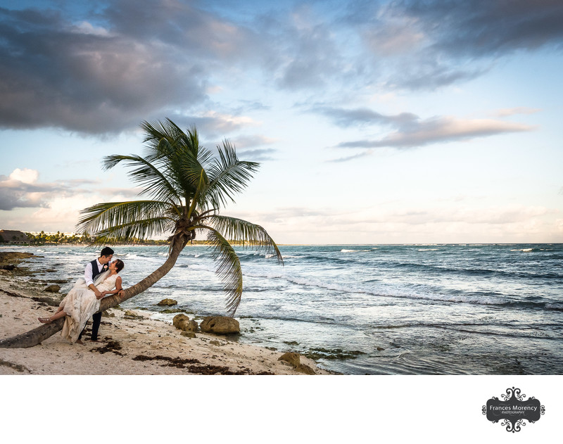 Mayan Riviera Bridal Portrait on the Beach