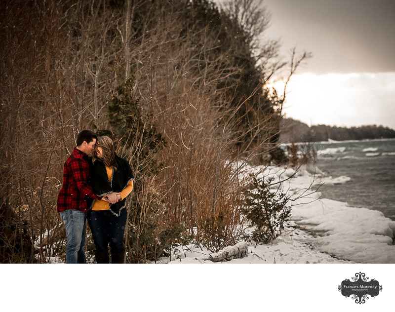 Grey Bruce Engagement Photographer by Georgian Bay