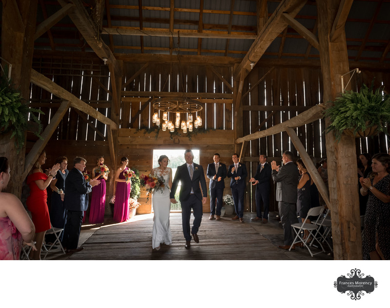 Barn Wedding Photographer in Southern Ontario