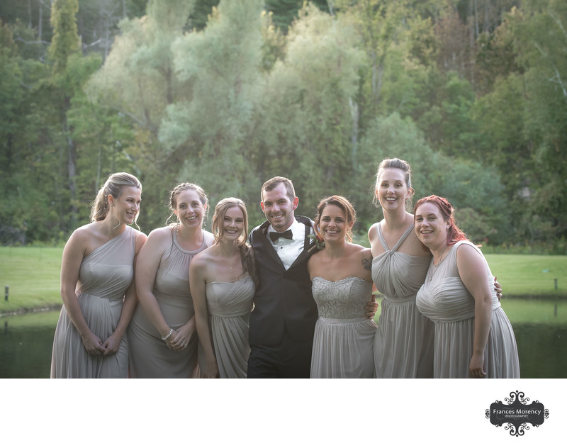Hockley Valley Resort Wedding Photo Bridal Party