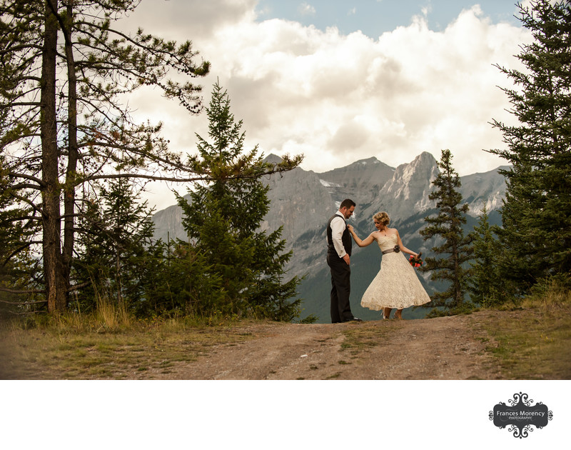Canadian Rockies Pre Wedding Photographer