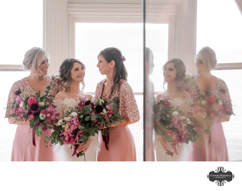Gladstone Hotel Photography of Bridesmaids