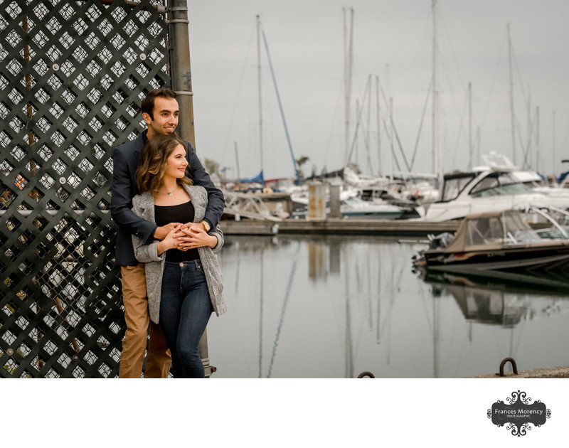 Collingwood Waterfront Engagement Photographer
