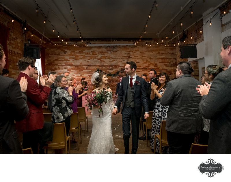 Ceremony Photo at The Gladstone Hotel Toronto Wedding