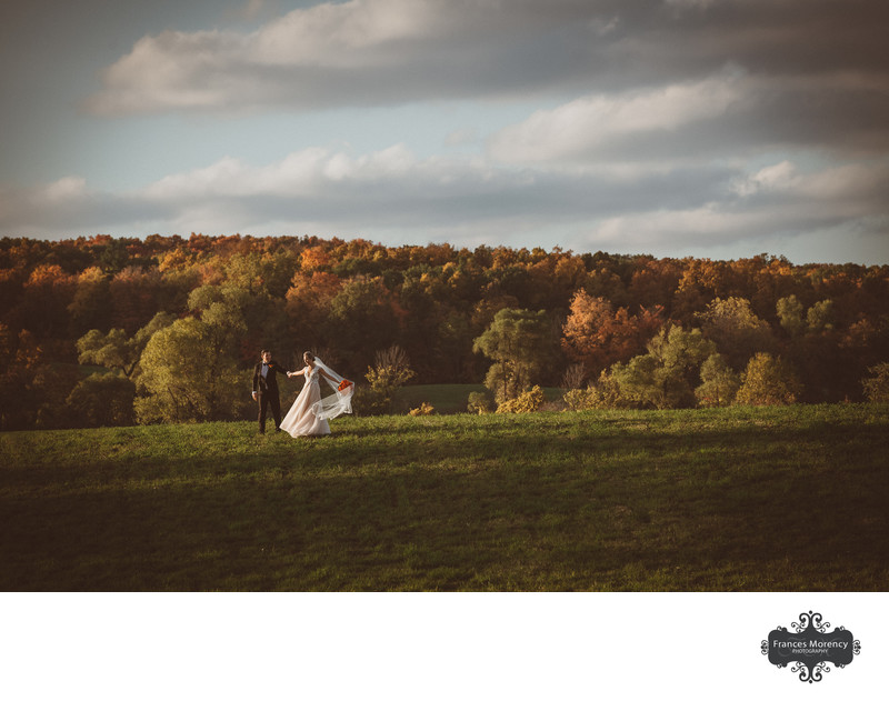 Best Blue Mountain Resort Wedding Photographer