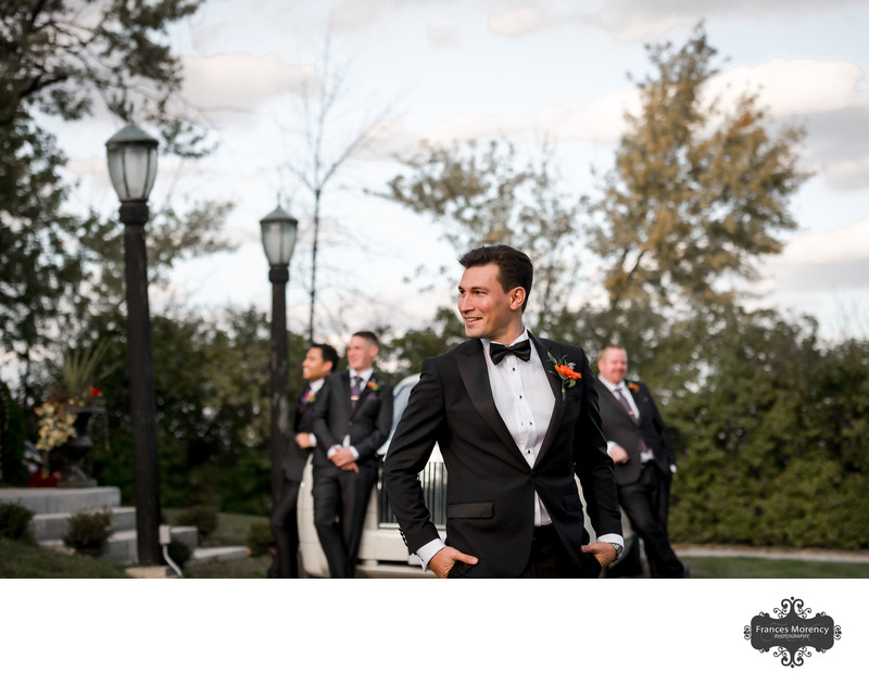 Groomsmen Portrait at David Springer Estate