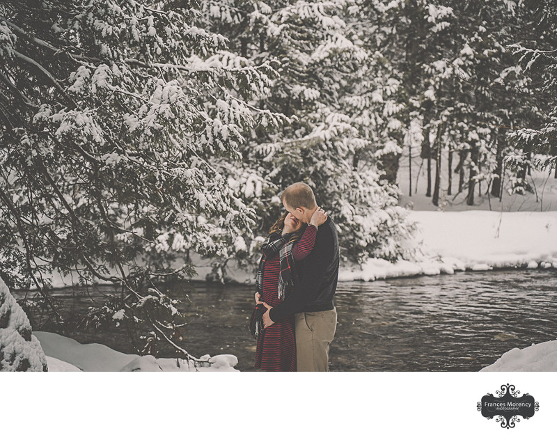Hogg's Fall Winter Engagement Photography