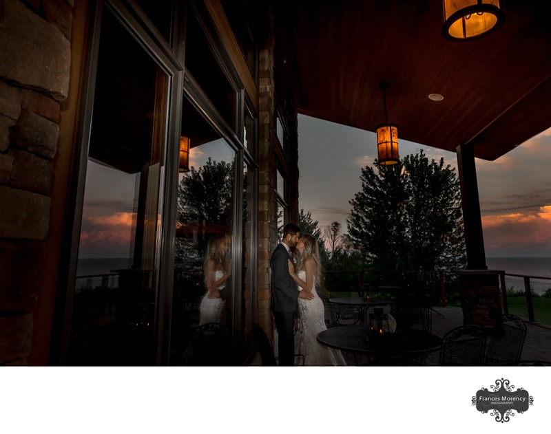 Night Photograph at Lora Bay Thornbury Wedding