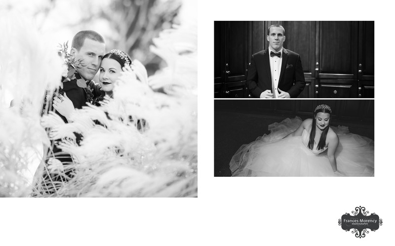 Winter Portrait at Glen Eagle Golf Wedding