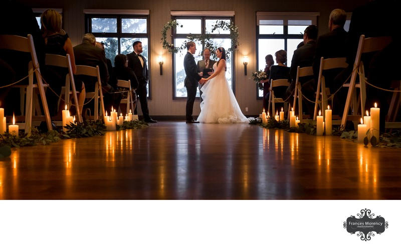 Glen Eagle Golf Club Indoor Ceremony Photography