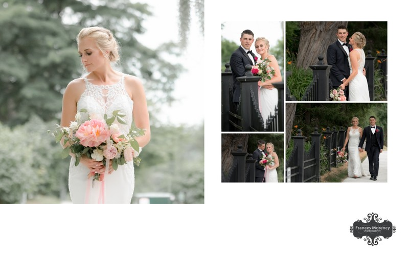 Wedding Portraits in Kleinburg