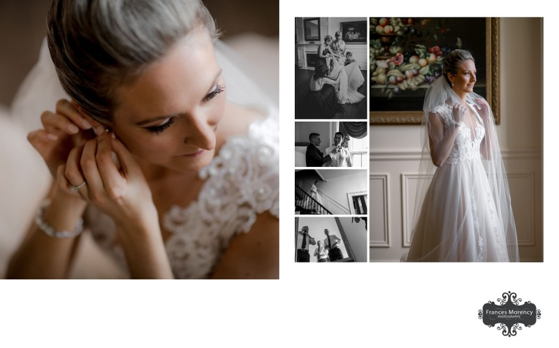 Bridal Preparation at David Springer Estates Burlington