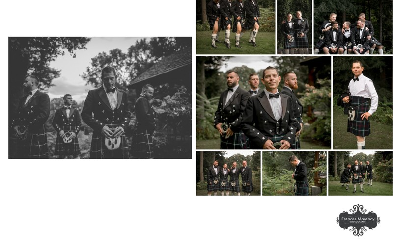 Pheasant Run Golf Wedding Photos of Groomsmen