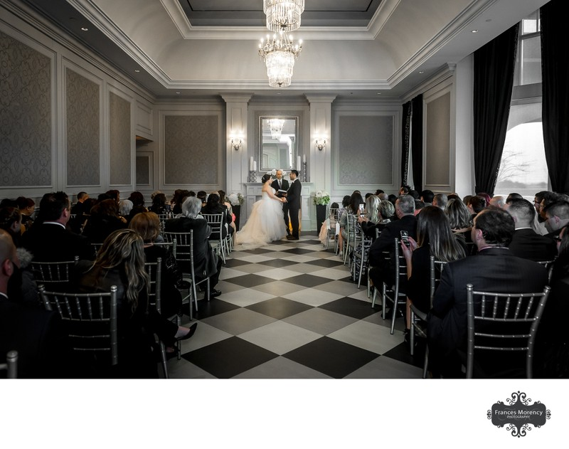 Hazelton Manor Wedding Ceremony Photographer
