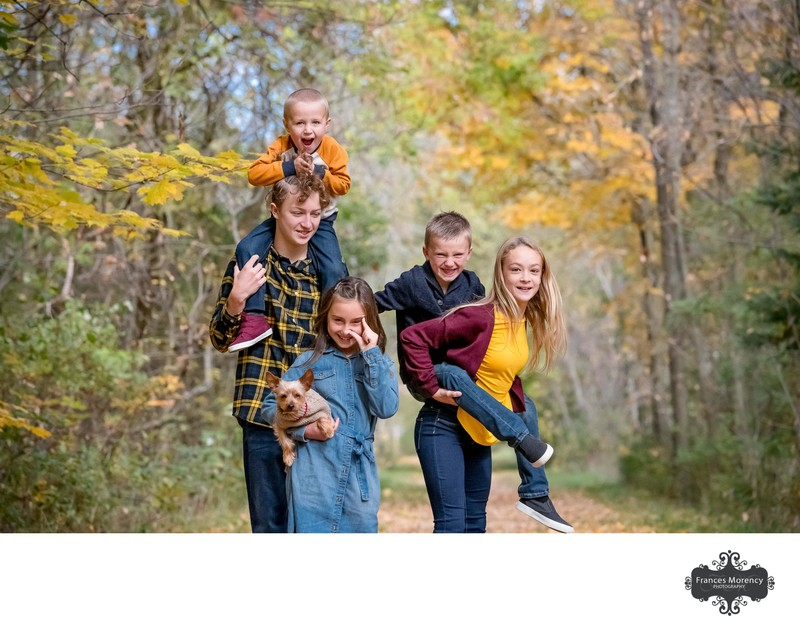 Funny Faces:  Caledon Family Photographer