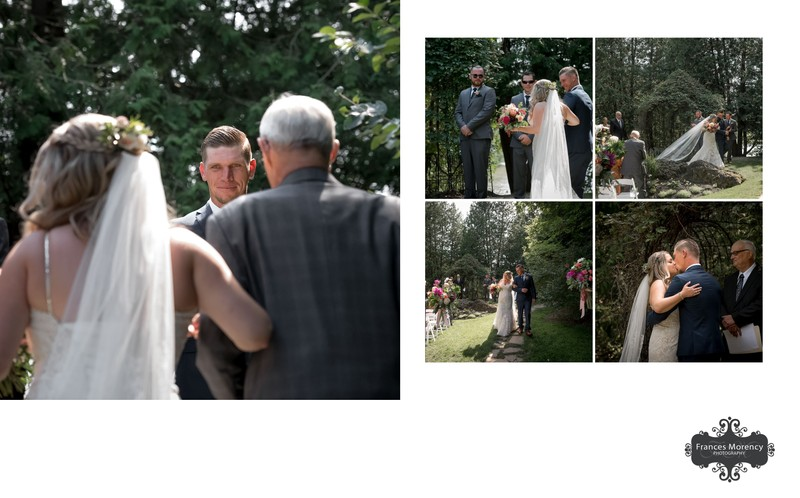 The Millcroft Inn & Spa Wedding Ceremony Photographer