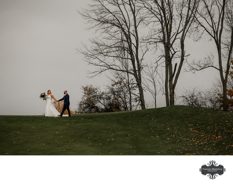 Knollwood Golf Wedding Photography