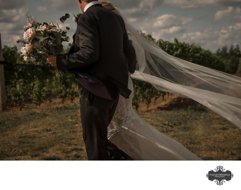 Adamo Estate Winery: Journalistic Wedding Photographer