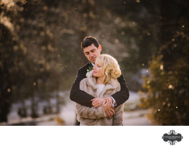 Couple with Golden Light Crystals from Ice at Millcroft