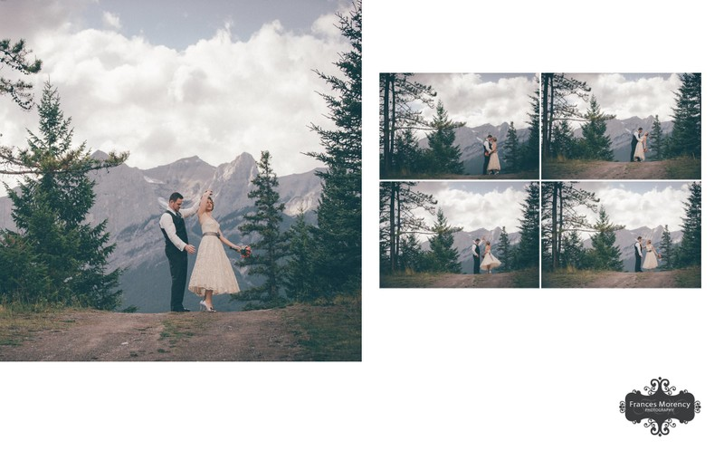 Bride Groom Dancing:  Rockies Wedding Photographer