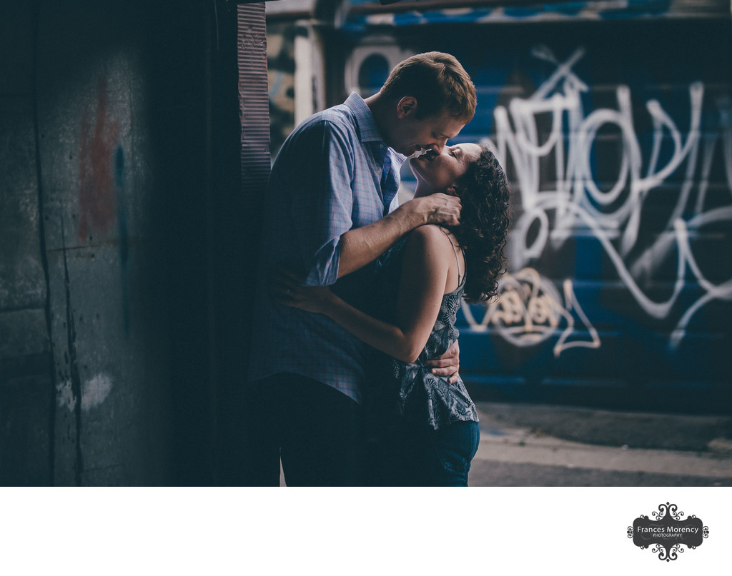 Toronto Graffiti Engagement Photographer