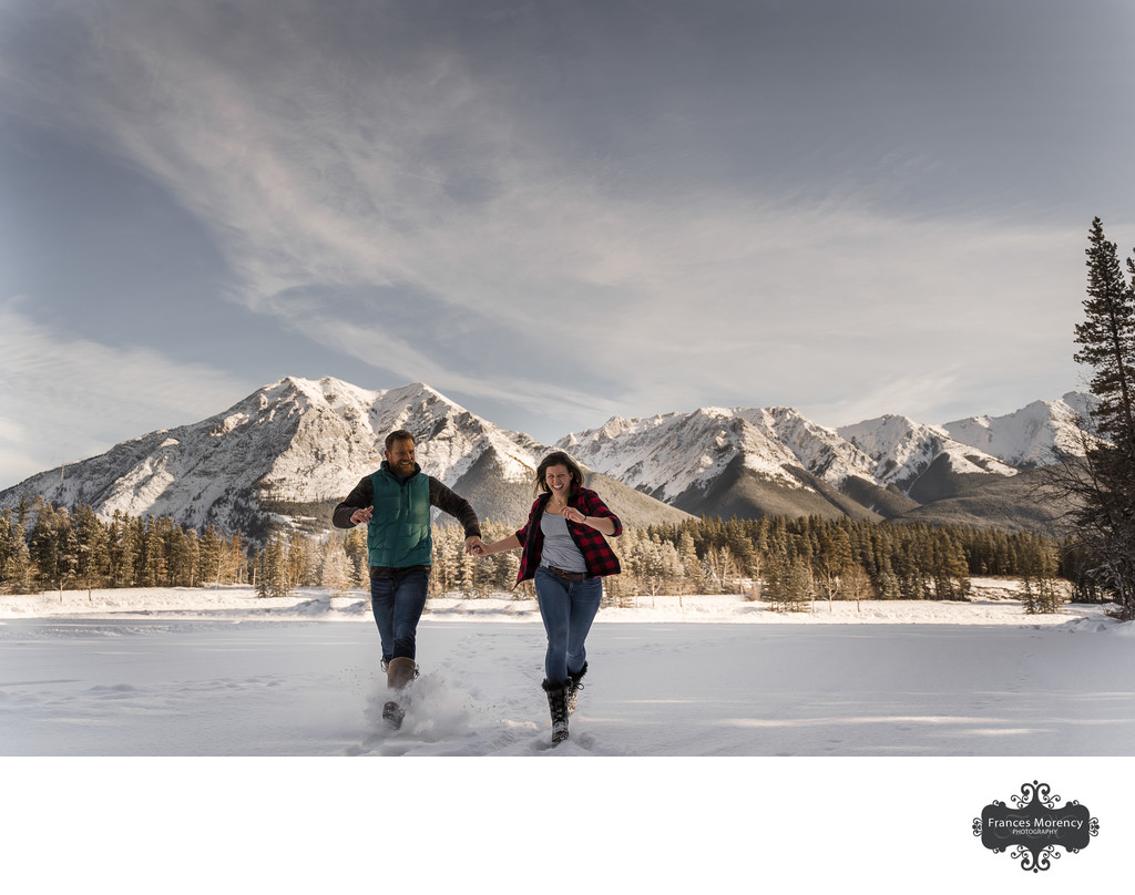Alberta Destination Engagement Photographer