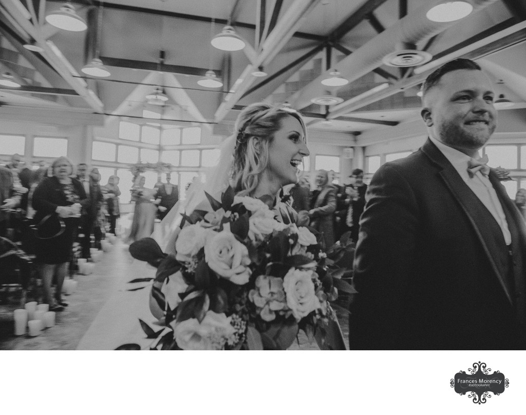 Journalistic Wedding Photographer at Southshore Centre