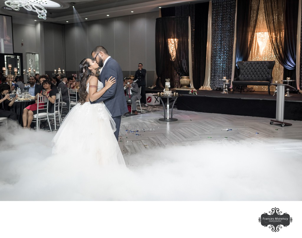 First Dance:  Indian Wedding Photographer at Apollo