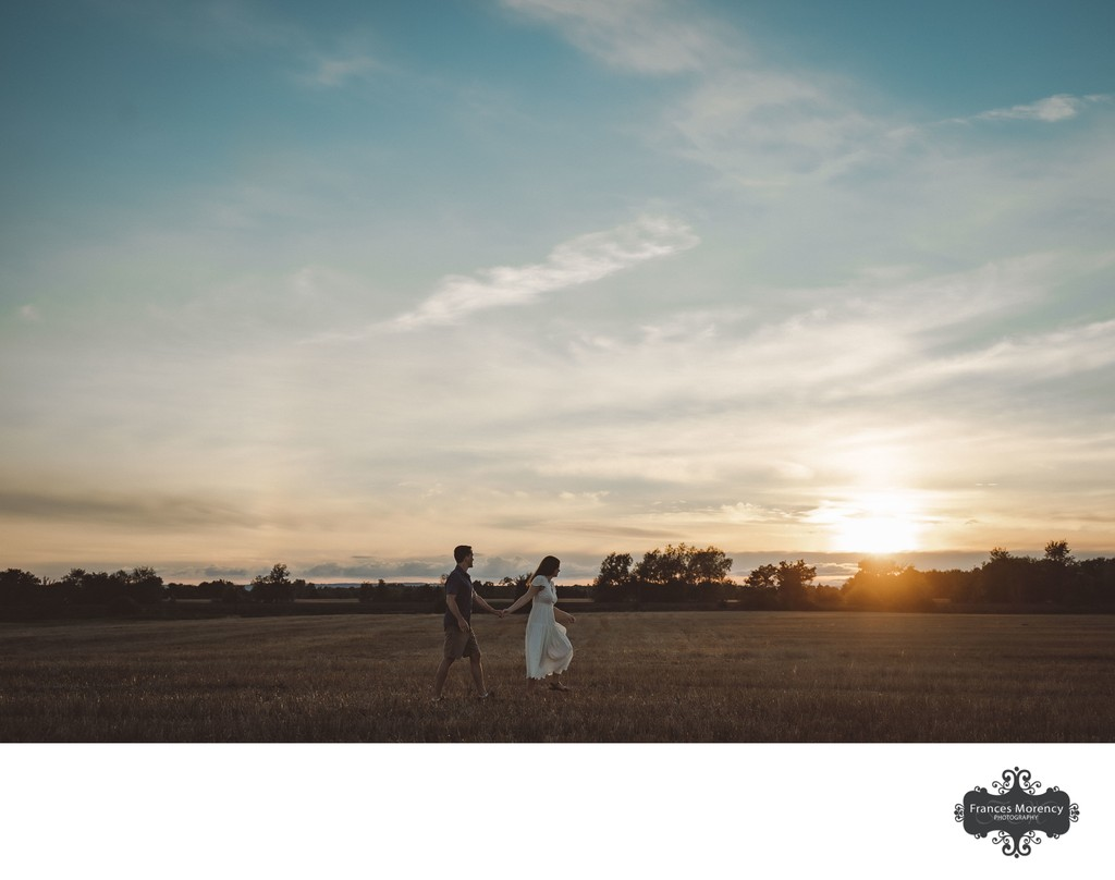 Golden Hour at Gibson Centre Wedding