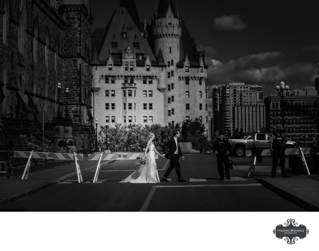 Ottawa Wedding Photography at Parliament Buildings