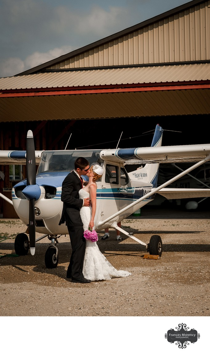 Saugeen Municipal Airport Wedding Photographer
