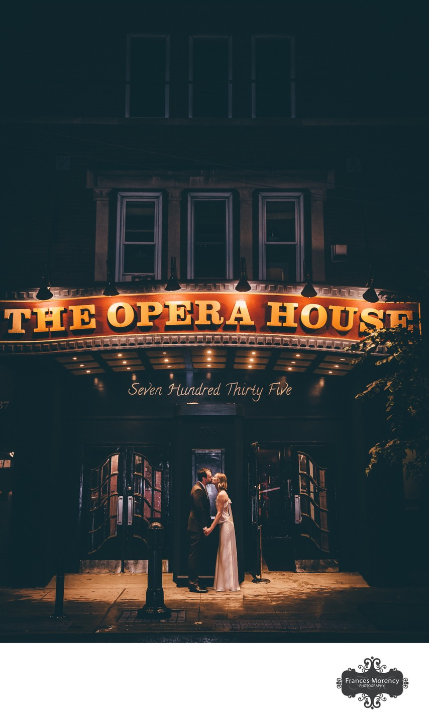The Opera House Wedding Photographer