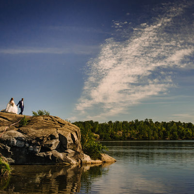 Idylwylde Sudbury Wedding with views galore.