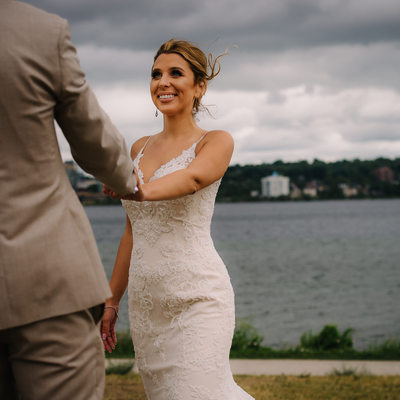 Barrie Waterfront Wedding Photographer