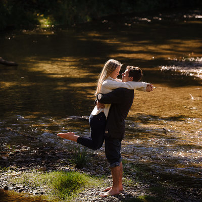 Hockley Valley Engagement Photographer