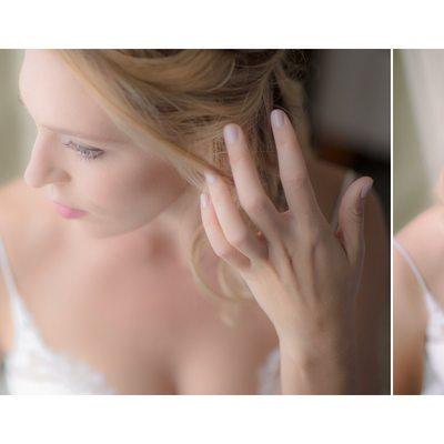 Five Minute Bridal Portraits on the Wedding Day