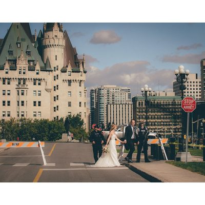 Ottawa Backdrop for Moments on Wedding Days with Couple