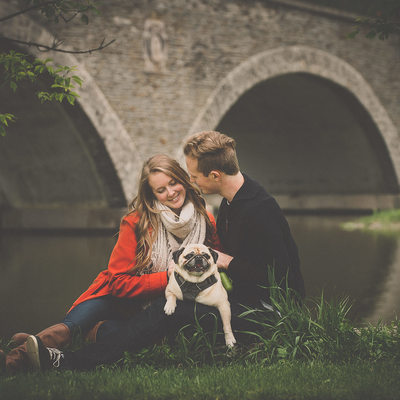 Old Mill Engagement Photography