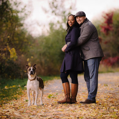 Toronto Fall Engagement Photography