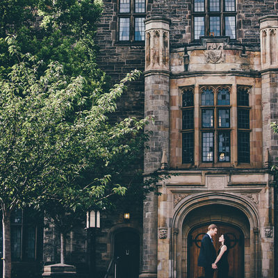 Trinity College Engagement Photographer