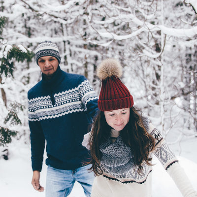 Grand Valley Engagement Photography in the Winter