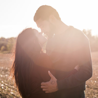 Caledon Sunset Engagement Photographer