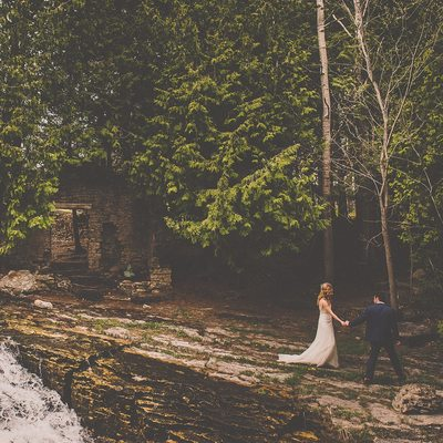 Millcroft Inn Fine Art Photography by the waterfall