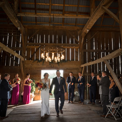 Cambium Farms Wedding Ceremony Photographer