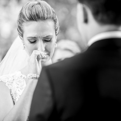 Black White Wedding Moment at David Springer Estate