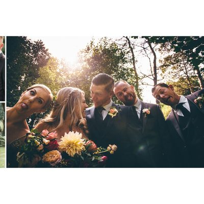 Wedding Party Photos at The Millcroft Inn & Spa