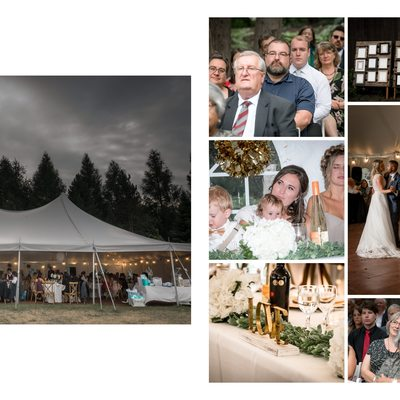 Erin Estate Weddings with Tented Reception