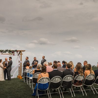 Outdoor Ceremony at The Golf Club at Lora Bay Wedding