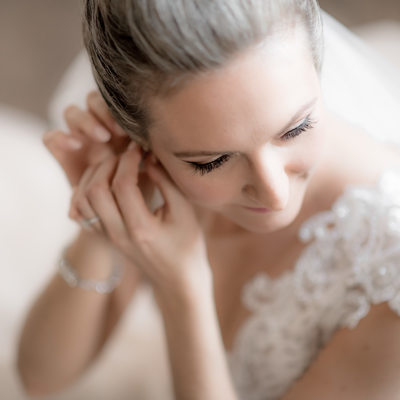 Bridal Portrait at David Springer Estate Wedding
