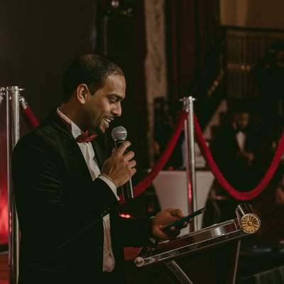 Speeches:  Mississauga Event Photographer